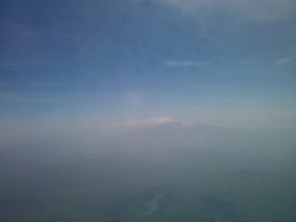 Pretend it's a 3-D picture where you have to cross your eyes to see Mt. Etna.