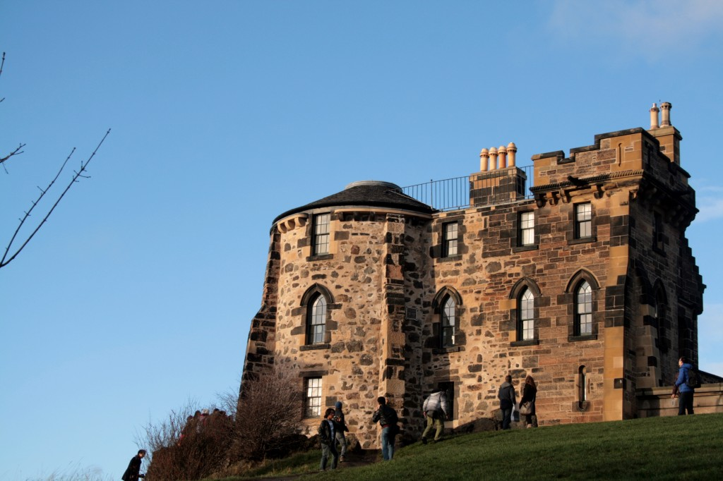 House on Calton Hill