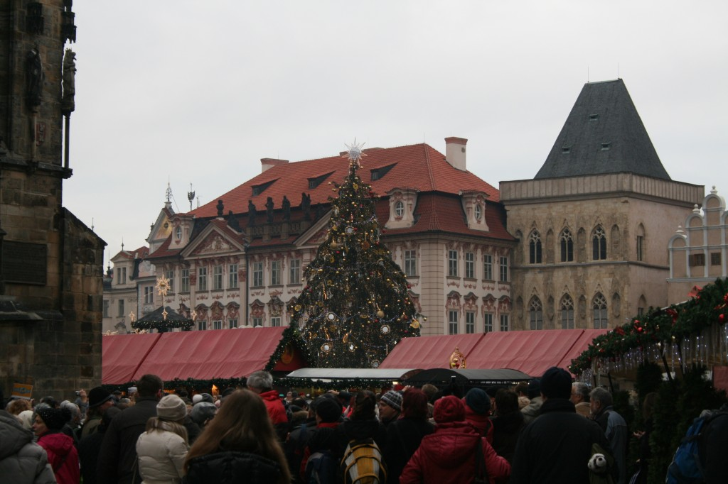 Open November 29th through January 11th, Prague's Christmas Market fills Old Town Square and spills over to Wenceslas Square (yep, that Wenceslas)