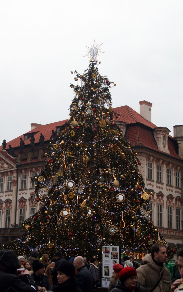 No Christmas market would be complete without a Christmas tree