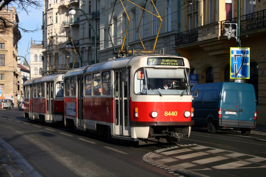 I am oddly fascinated by all the old streetcars rattling by