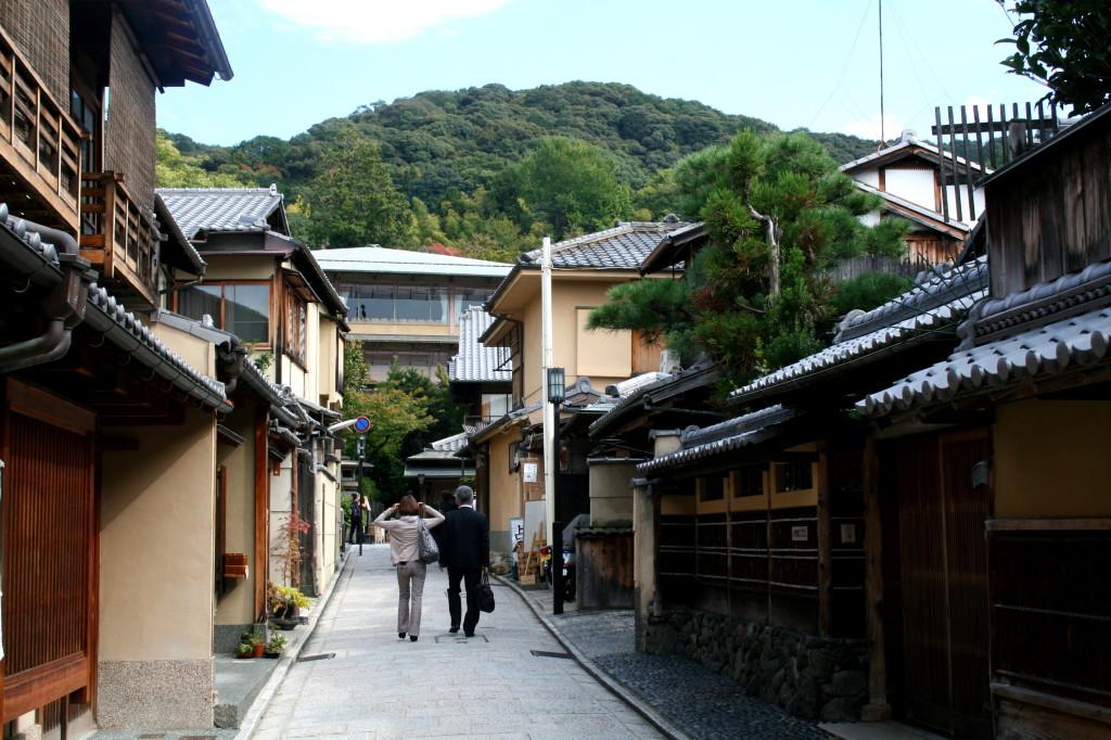 sannenzaka-houses